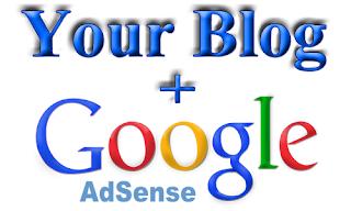 Google ads, tab menu