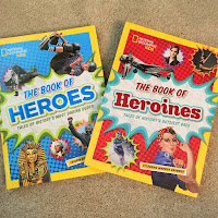 National Geographic books of heroes and heroines