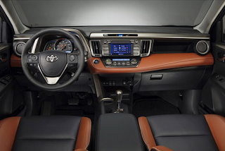 2018 Toyota RAV4 interior and Exterior