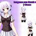 Chica anime 0001 (Sprite)