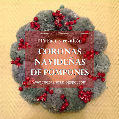 christmas-deco-navidad-christmas-wreath-pompoms-knitting