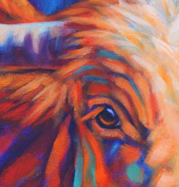 California Artwork Western Art Colorful Contemporary