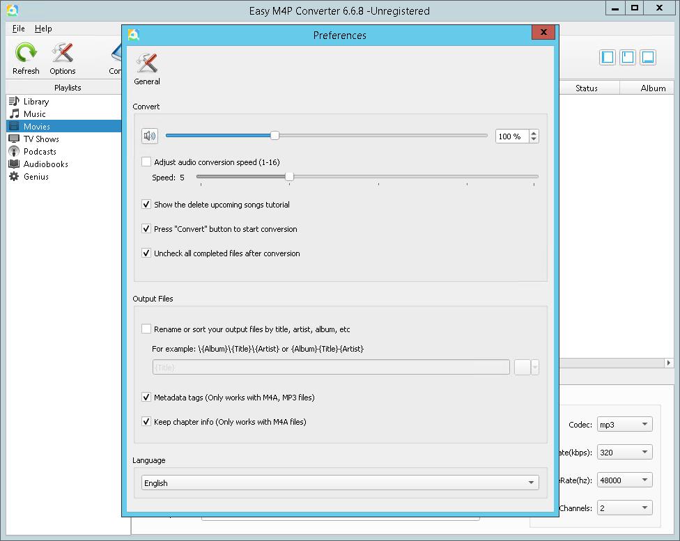 Easy M4P Converter 6.6.8