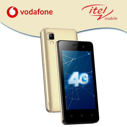 Vodafone and itel Mobile together offer A20 smartphone with