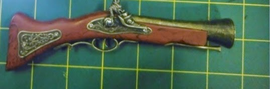 discovered replica firearm