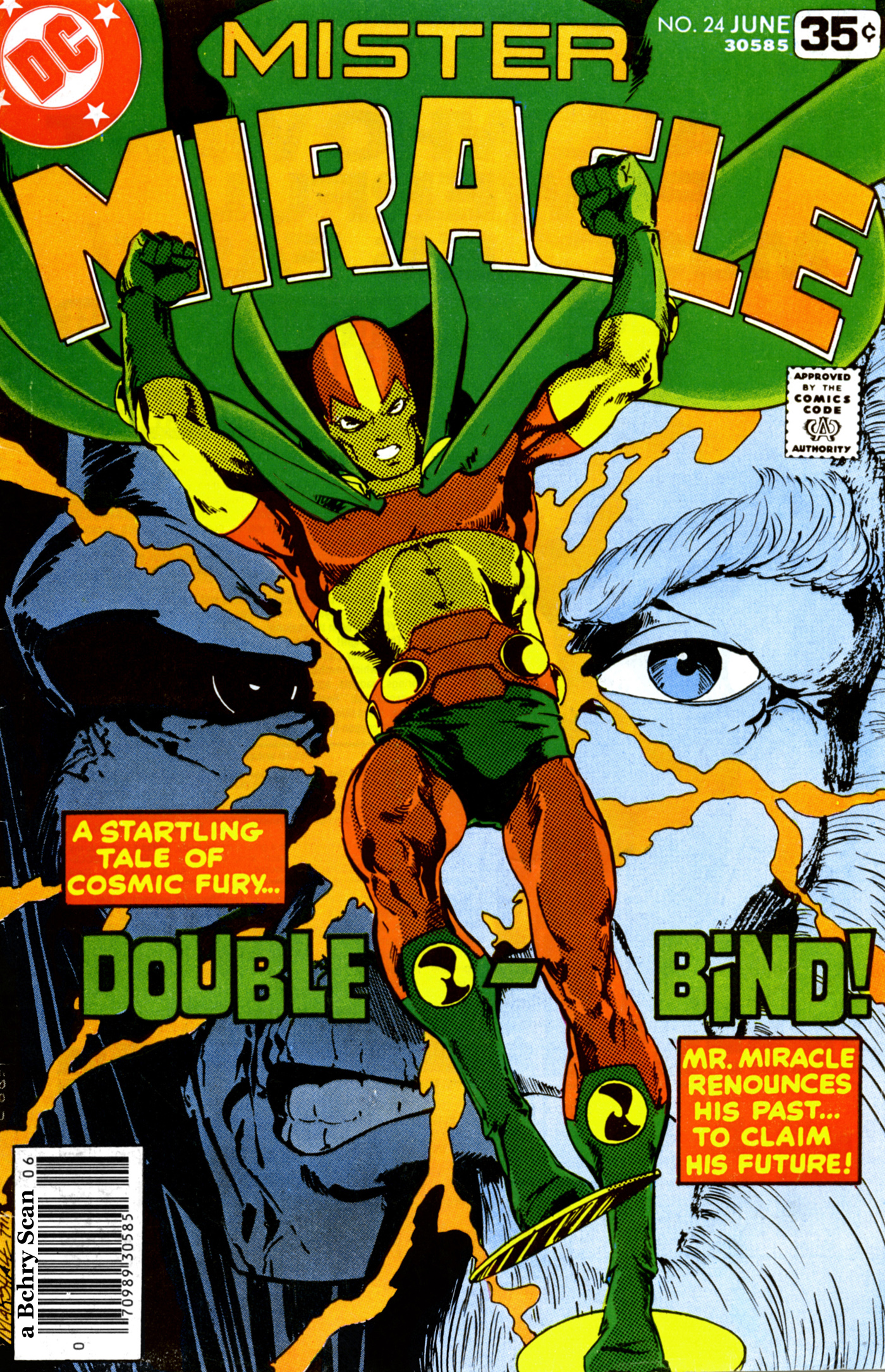 Mister Miracle (1971) issue 24 - Page 1