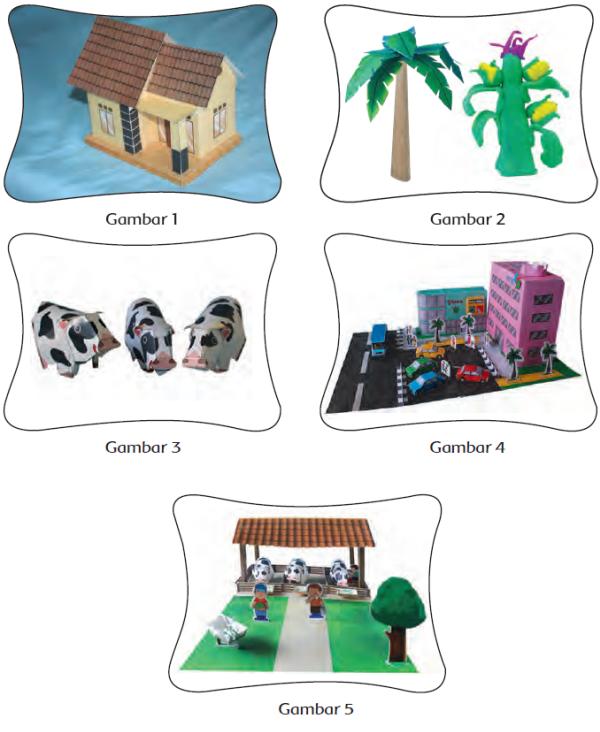 Contoh Gambar 3 Dimensi Untuk Anak Sd Kelas 4 / Gambar ...