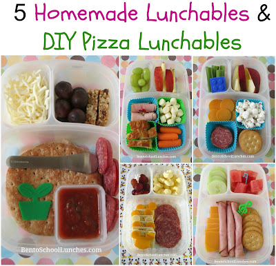 5 Homemade Lunchables and DIY Pizza Lunchables