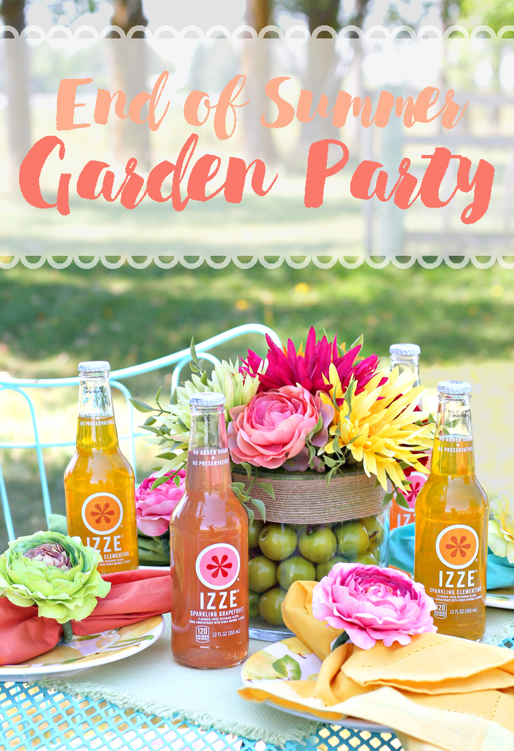 the craft patch end of summer garden party