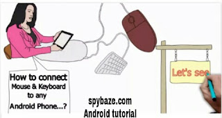 Connect computer keyboard and mouse to android
