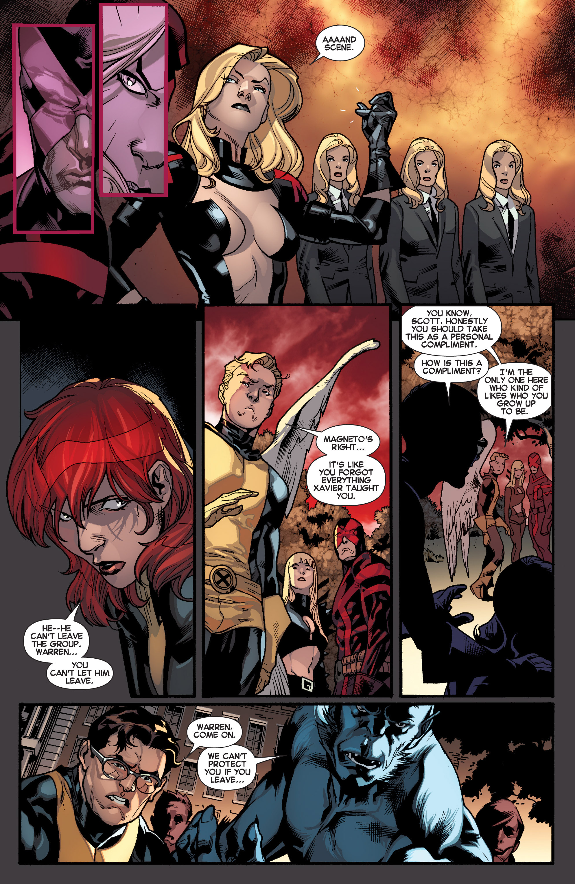 Read online All-New X-Men (2013) comic -  Issue # _Special - Out Of Their Depth - 13