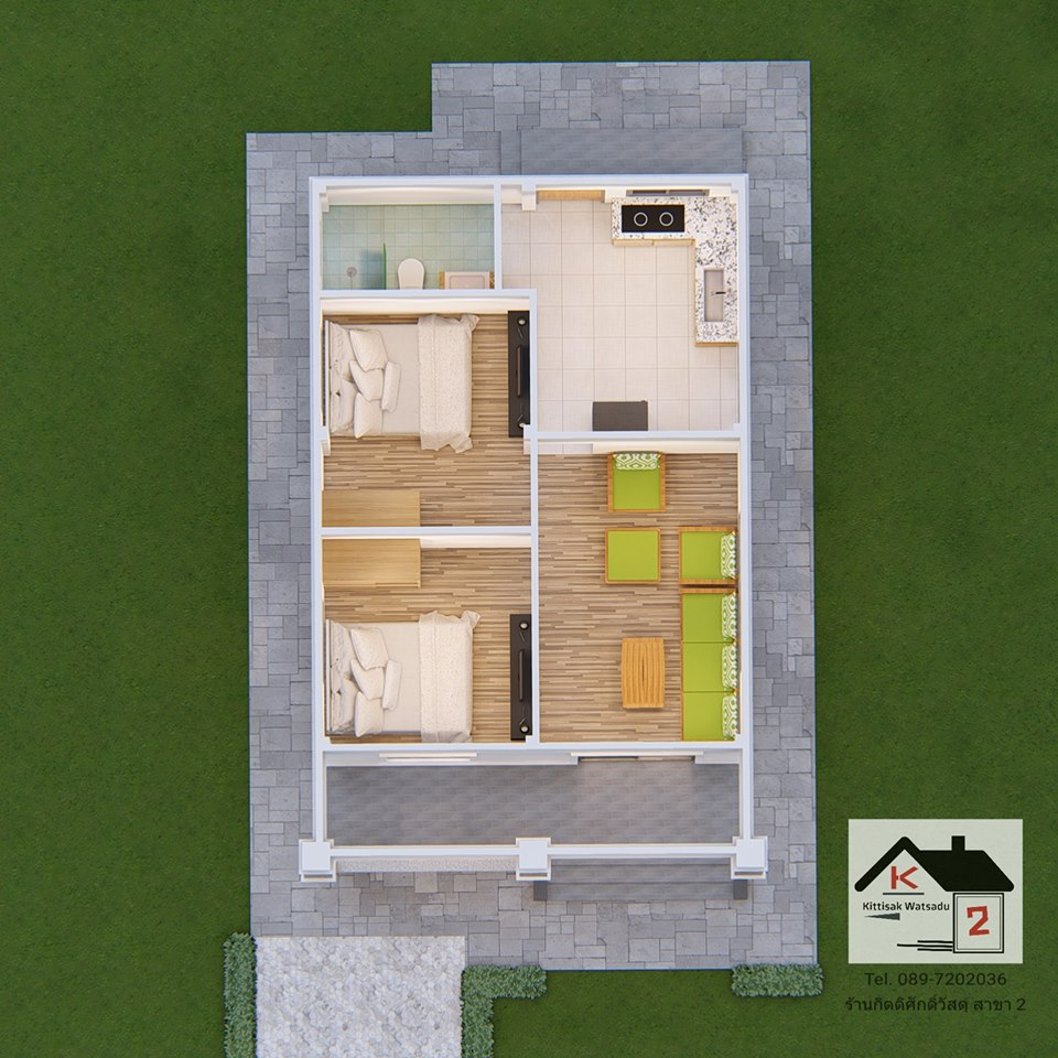 Having a small family is a practical choice nowadays. This is just the same in looking for an ideal family home. If you have two or three children and you are looking for a house design that will fit with the number of your family, this article may help you!  The following are contemporary home for the modern family. The house designs are simple and floor plans offer a compact layout to maximize the available space. The simplicity but amazing design highlights the home's contemporary elegance. Having a home with two to three-bedroom is good enough for a family with up to five members. Single-story houses that will serve best not only for the present but also when the time comes when the owners are no longer capable of moving around from time to time. Since it is an open layout, everything that you need is on your reach at one level.