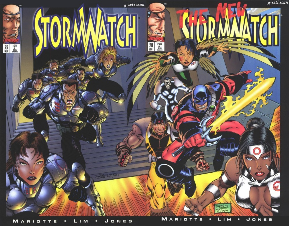 Stormwatch (1993) issue 29 - Page 1