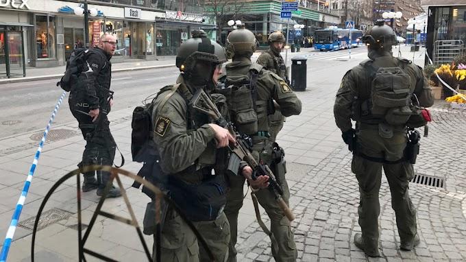 Stockholm attack: Uzbek held for 'terrorist crimes'