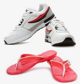 Flat 50% Off on Select FILA Footwear @ Flipkart (No Minimum Purchase) Hurry!!! Valid for Limited Period