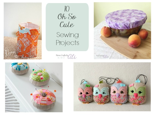 10 Sewing Tutorials From Multiple Bloggers