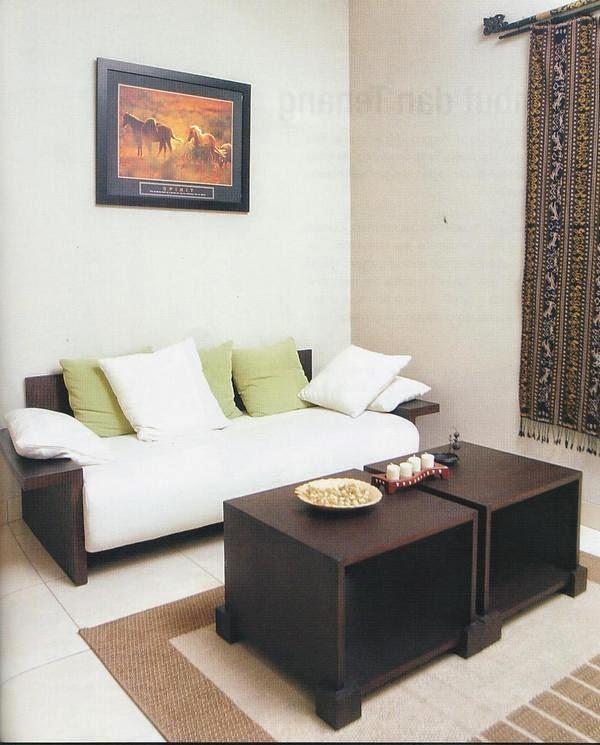 Design Ruang Tamu Rumah Mungil Minimalis Modern