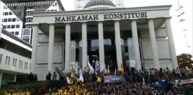Video Kericuhan di Gedung MK, Polri: Hoax