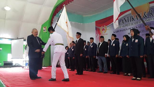 Alex Noerdin Lantik Heri Amalindo Jabat Ketua KONI PALI