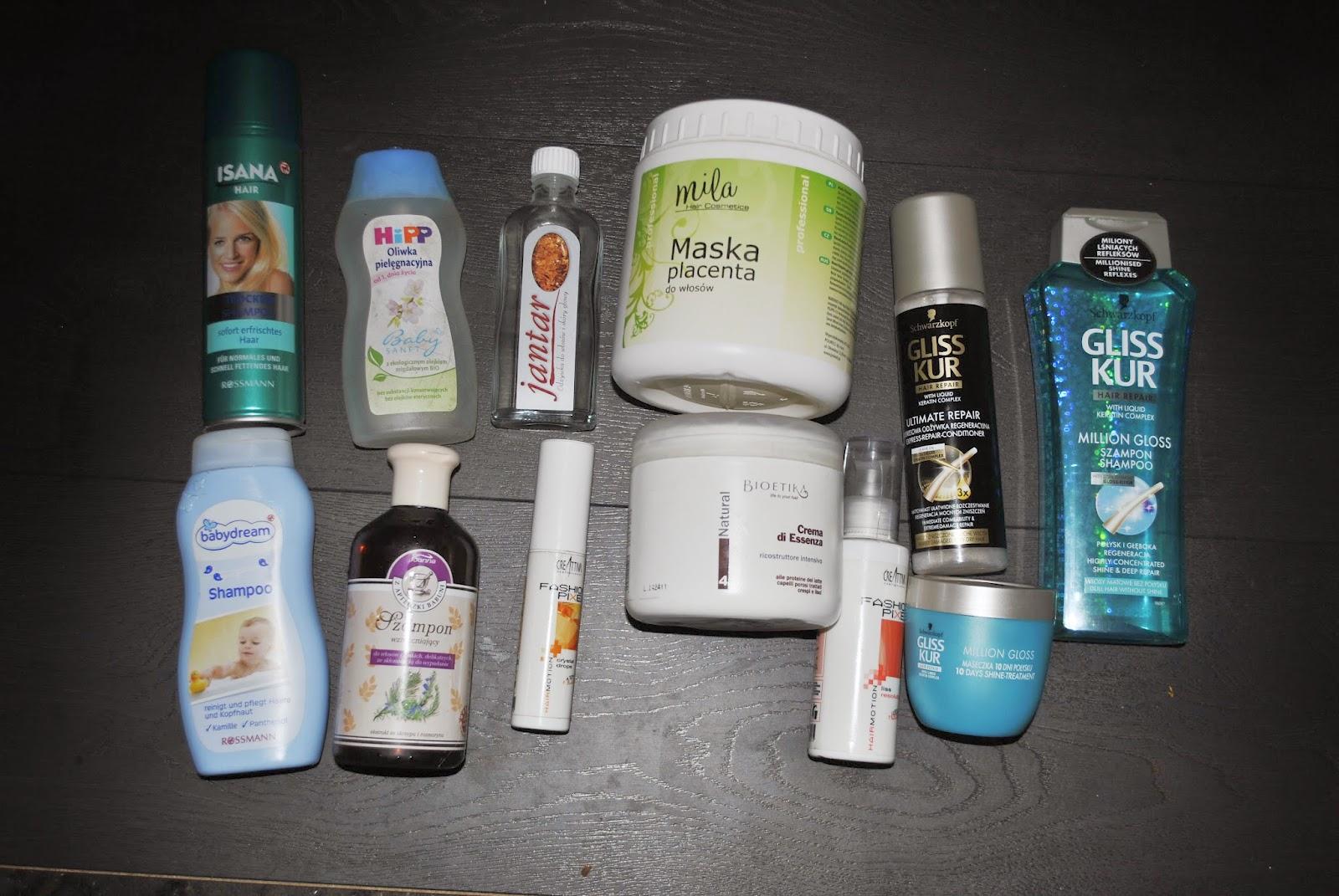 gliss kur łagodny szampon asortyment