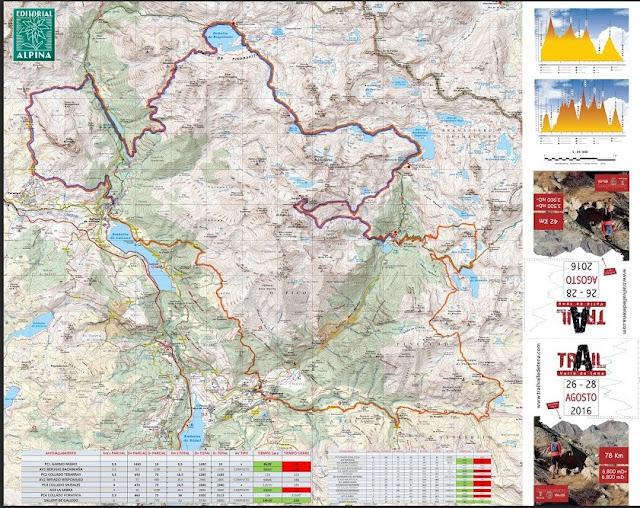 Valle De Tena Mapa.Tierra De Aventura Estrenamos Mapa Para El Trail Valle De Tena