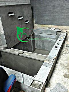 ALAM INDAH ASRI ahli dalam struktur mekanisme filter kolam koi, kolam hias kolam relief dan kolam renang