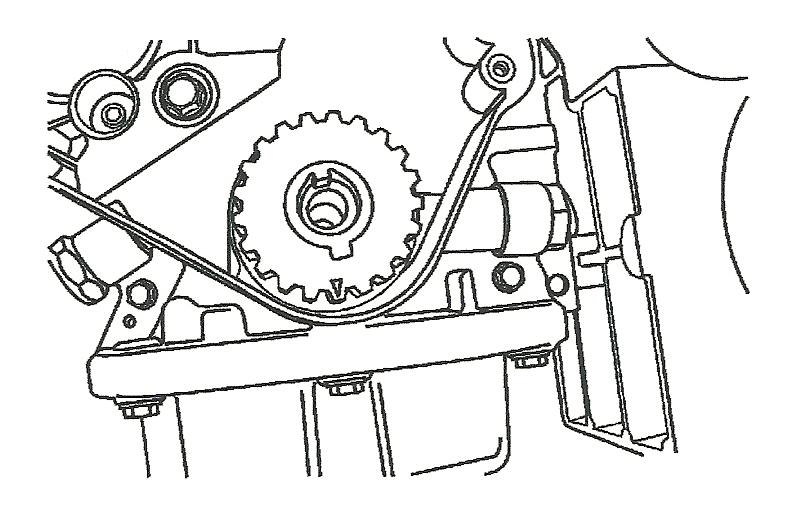 2004 chevy aveo Diagrama del motor