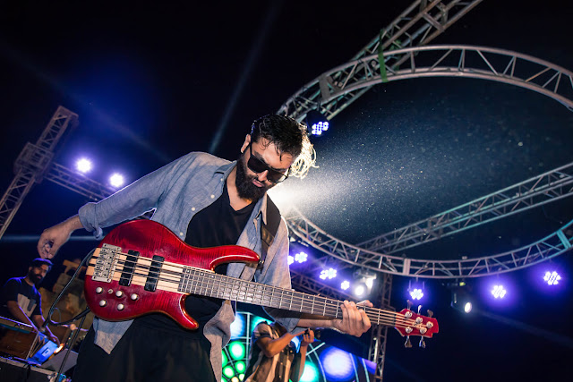 Waleed Attique is a Pakistani Musician and Bassist