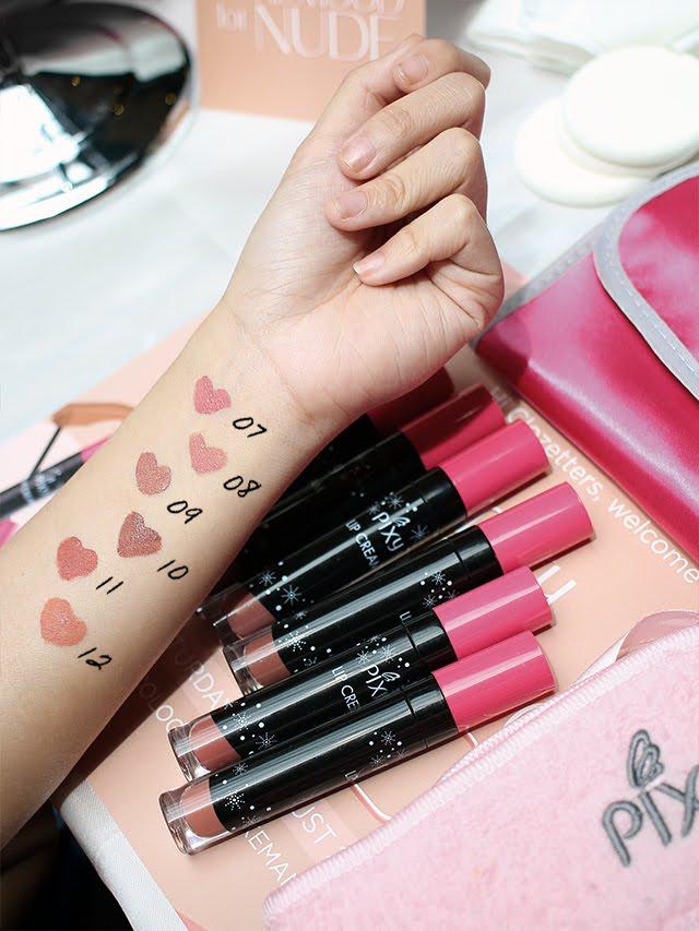 Review : Pixy Lip Cream Nude Series | conietta.com