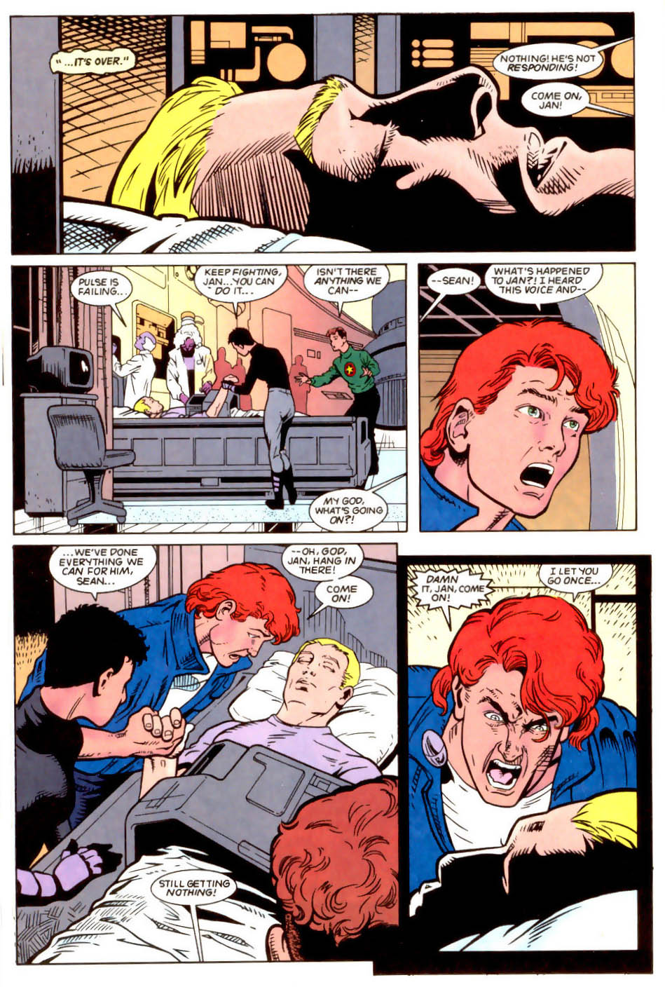 Legion of Super-Heroes (1989) 50 Page 22