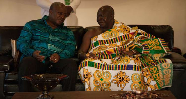 Mahama paid dearly for ignoring my advice - Otumfuo