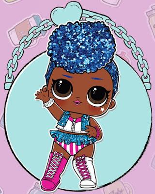 Блестящая и редкая кукла L.O.L. Surprise Confetti Pop Series 3 Wave 2