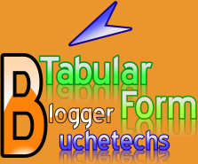 How To; Create A Post In Tabular Form - Blogger
