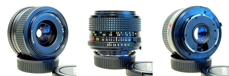 Minolta MD 28mm 1:2.8 #979