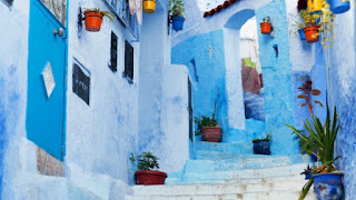Chefchaouen is the beautiful world famous electric blue city of Morocco