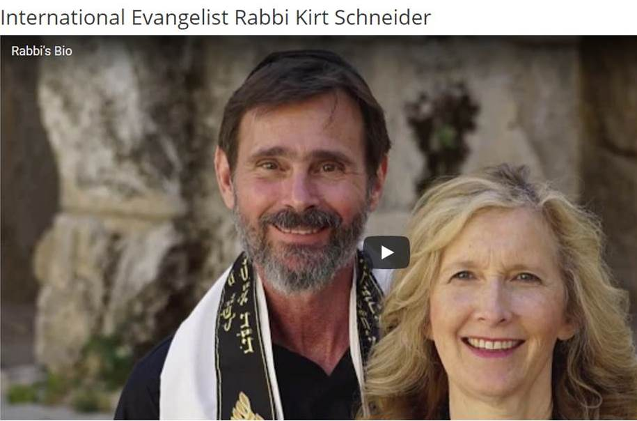 Rabbi K.A. Schneider - Discover The Jewish Jesus