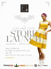 Fashion label Ejiro Amos Tafiri to Launch its Flagship Store with Cocktails, Fab Retail & More in Lagos!