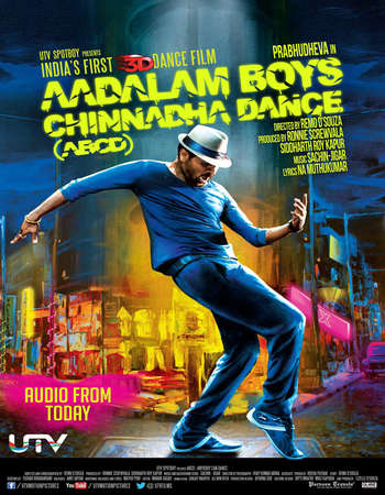 Poster Of ABCD (Any Body Can Dance) 2013 Hindi 550MB DVDRip 720p ESubs HEVC Watch Online Free Download downloadhub.net