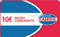 Logo Buono carburante di 10 € Tamoil a soli 5€ ! fino ad esaurimento!