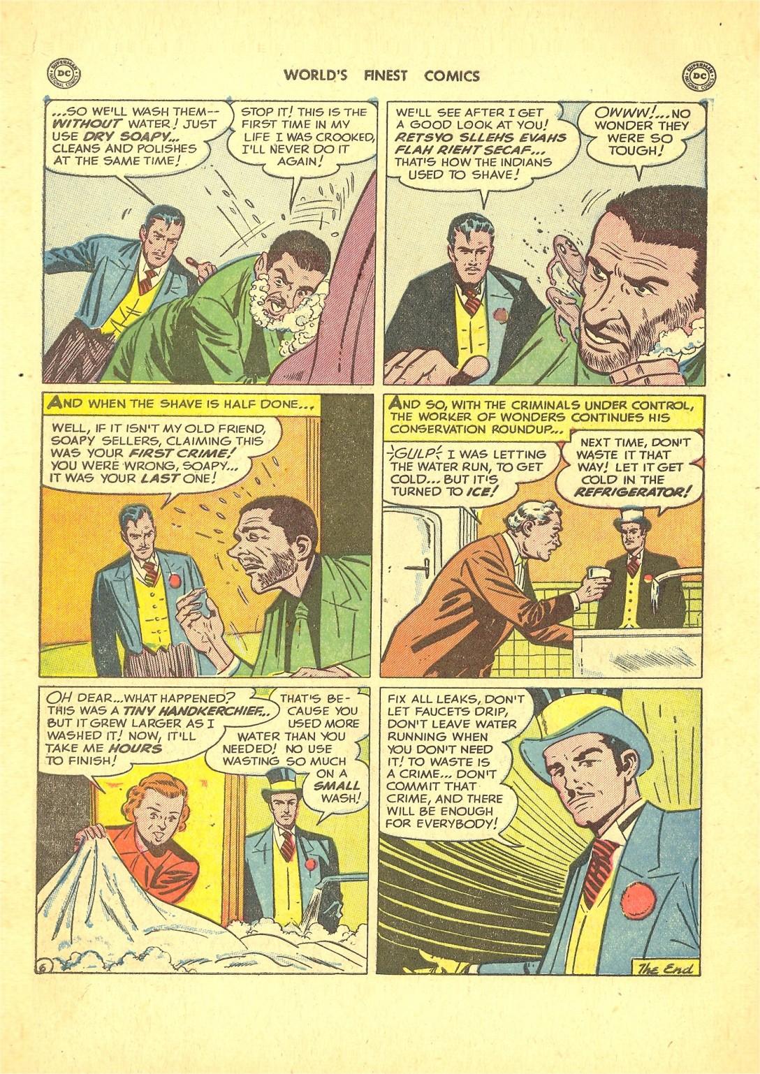 Read online World's Finest Comics comic -  Issue #50 - 60