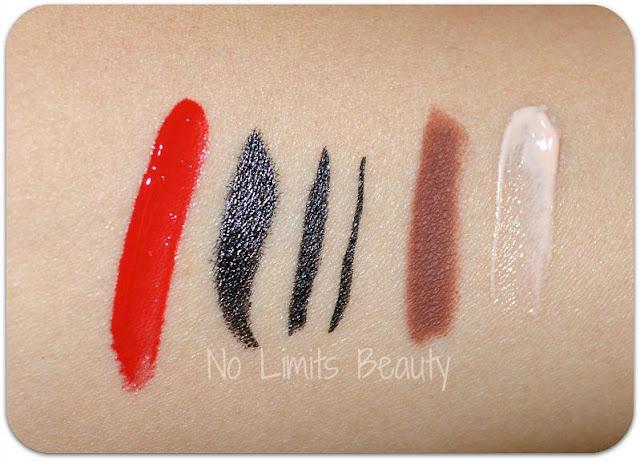 Ipsy Glam Bag Agosto 2015: swatches