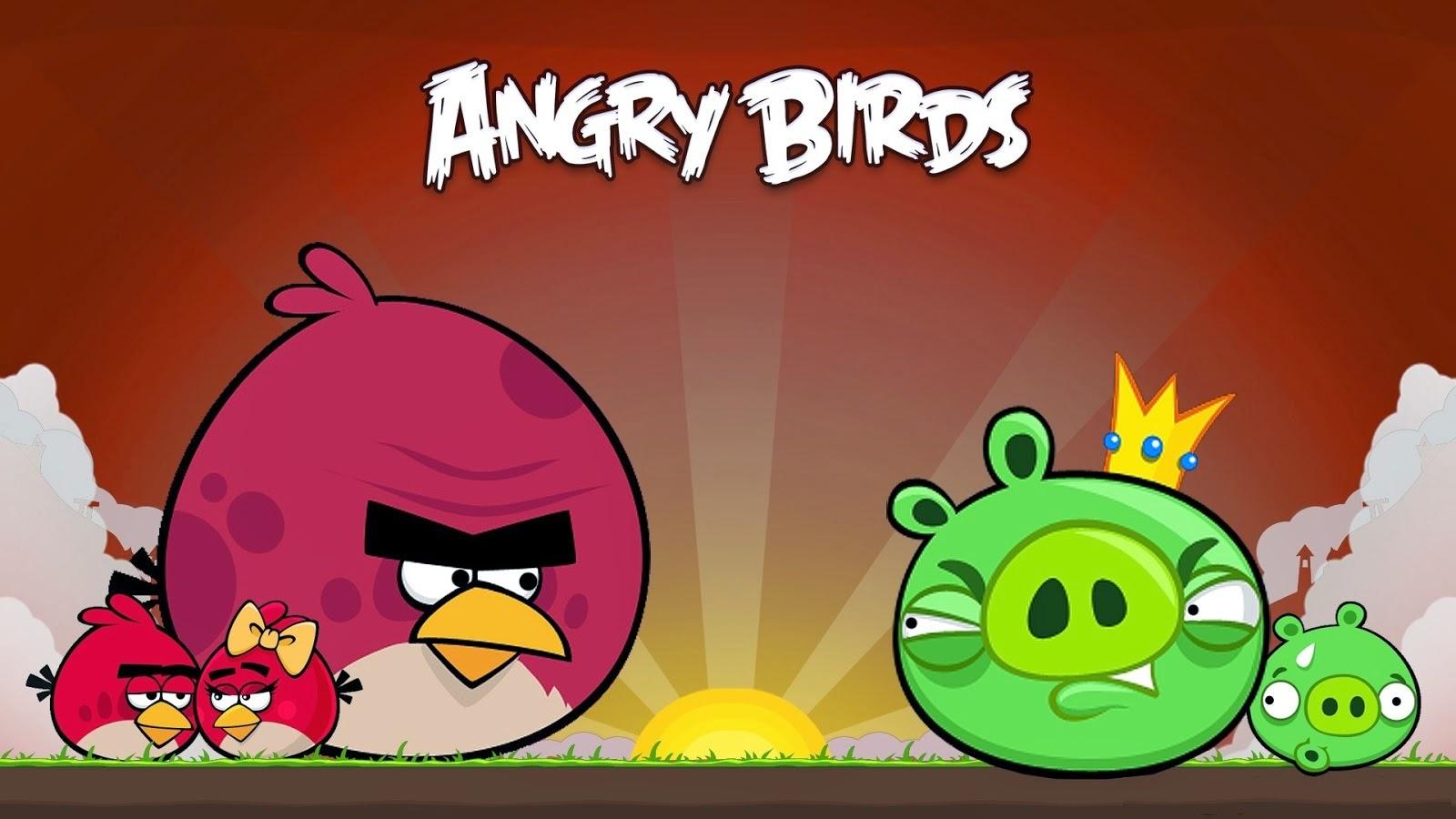 Angry Birds: Gambar Lucu Terbaru Cartoon