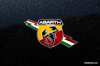 Modern Abarth Logo with Lightning Bolt