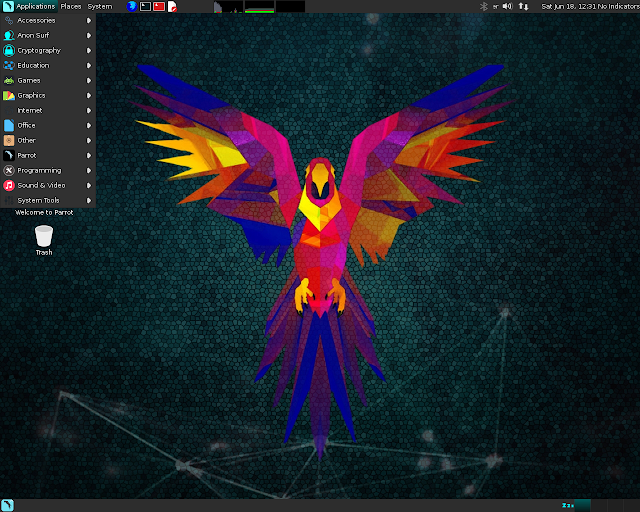 parrotsecurity Parrot Security 3.3 - Security GNU/Linux distribution designed with cloud pentesting and IoT security in mind Apps