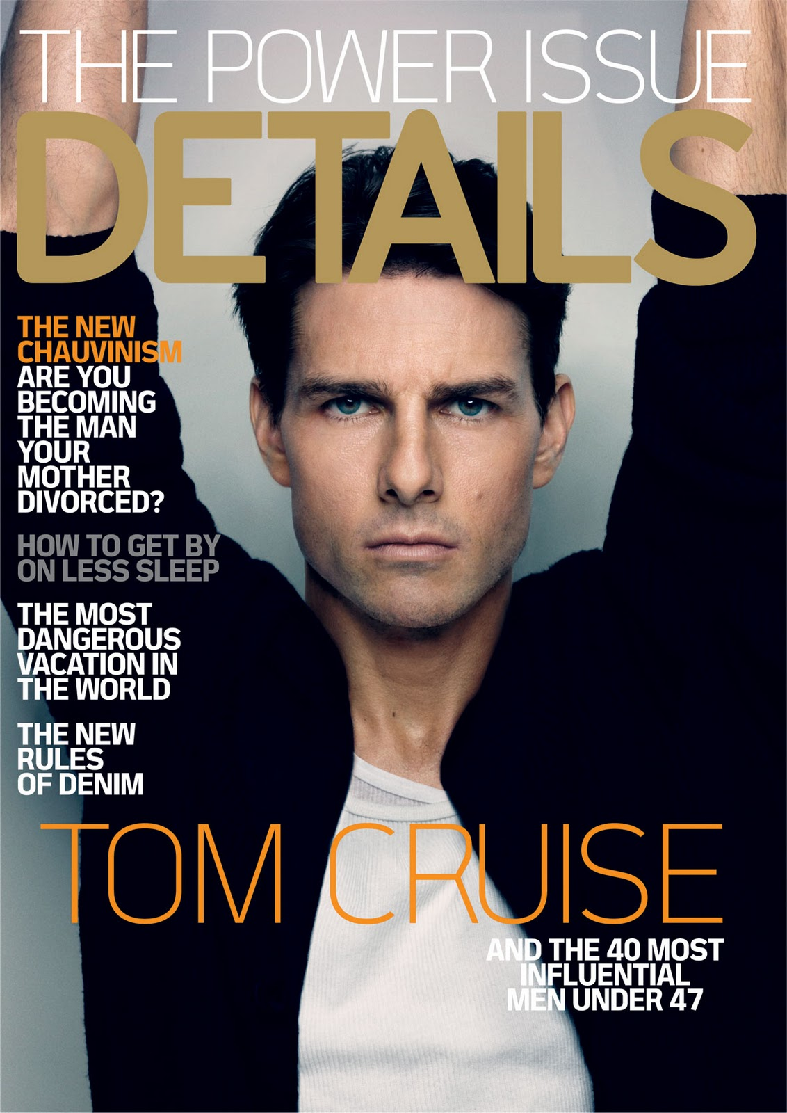 Magazine Cover Girls: Hairstyles For Men: Tom Cruise Hair