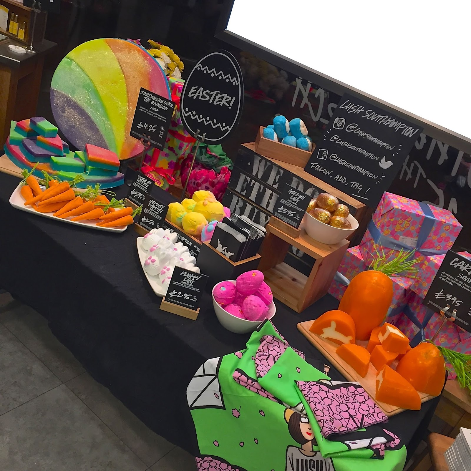 Lush Easter Collection 2015