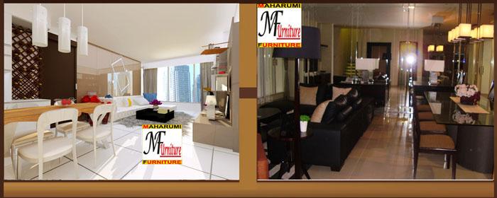 Custom Setting Interior Furniture Living Room