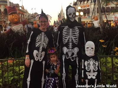 Halloween costumes at Disneyworld