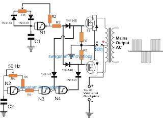 Igbt Gate Driver Circuit Diagram further TheTransistor lifier P2 additionally PIR Sensor Circuits besides IC7404 moreover Making Ups Tutorial. on inverter gate datasheet