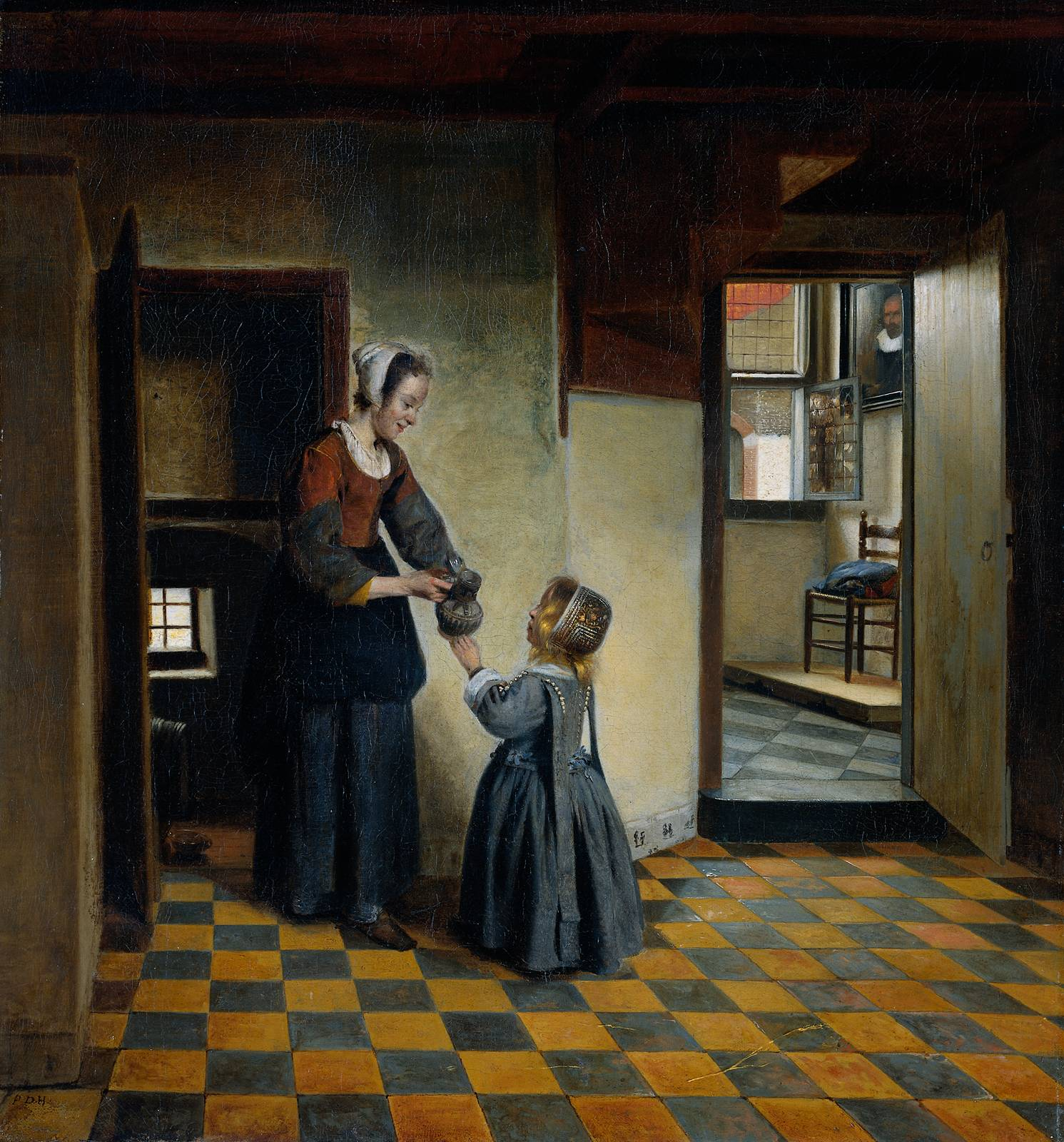 Pieter de Hooch - A Baroque Era painter